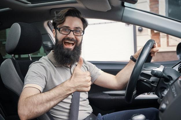 bestået køreprøve